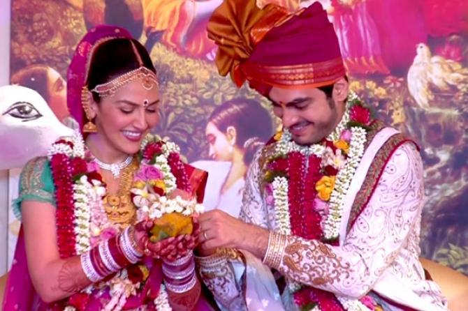esha deol and bharat takhtani wedding