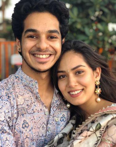 Mira Rajput With Ishan Khattar