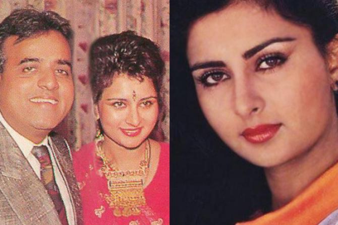 poonam dhillon married life