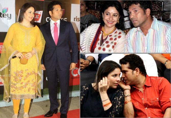 Sachin Tendulkar and anjali love life