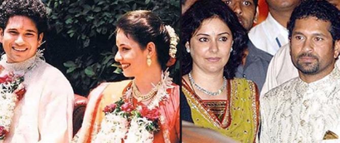 Sachin Tendulkar wedding photos