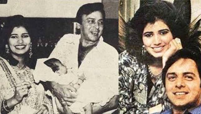 Vinod Mehra and Kiran