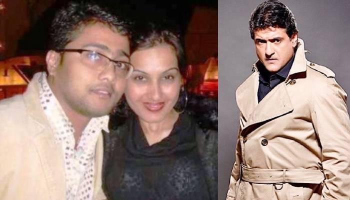Kamya with first husband and armaan kohli