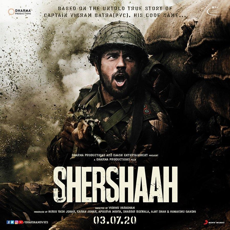 Sidharth Malhotra Shershah