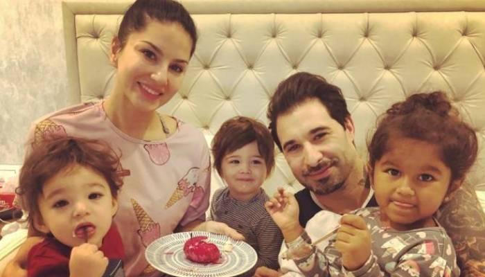 sunny family photo