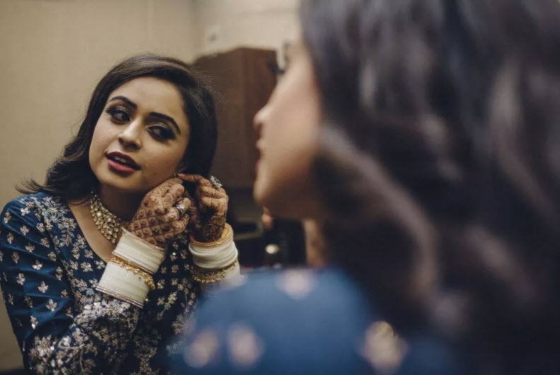 Akriti Chadda wedding look