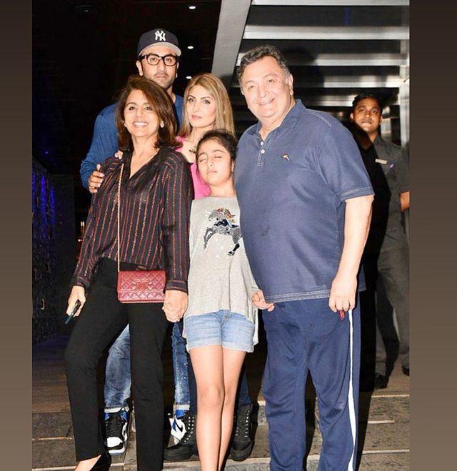 ranbir family
