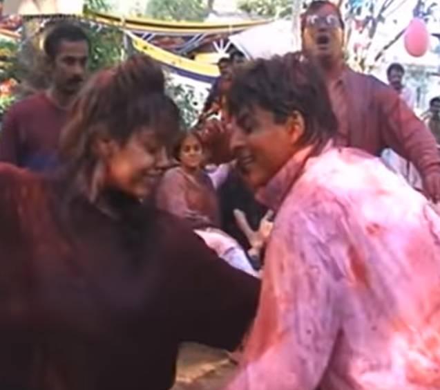Holi Shahrukh Khan