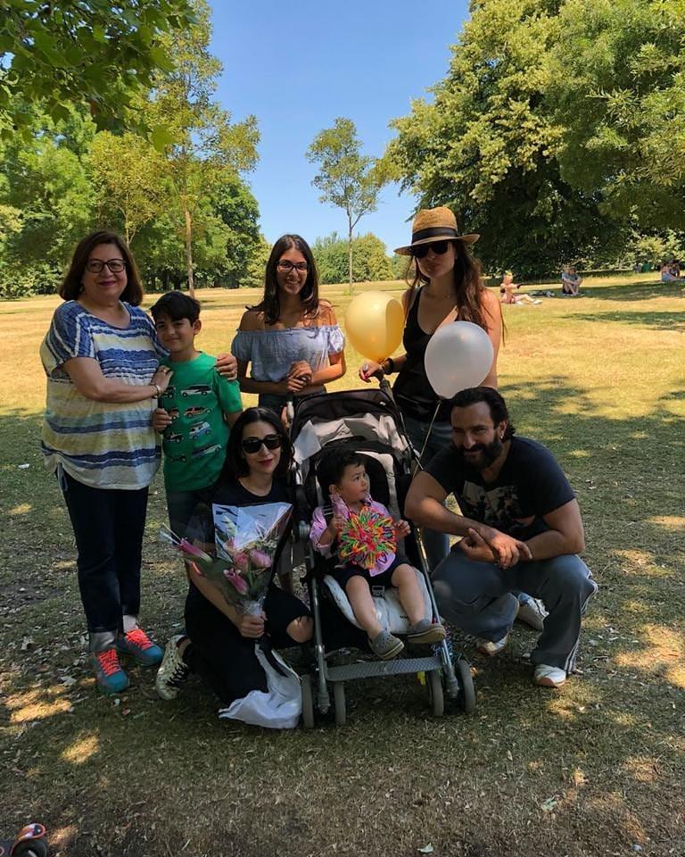 Kareena Family