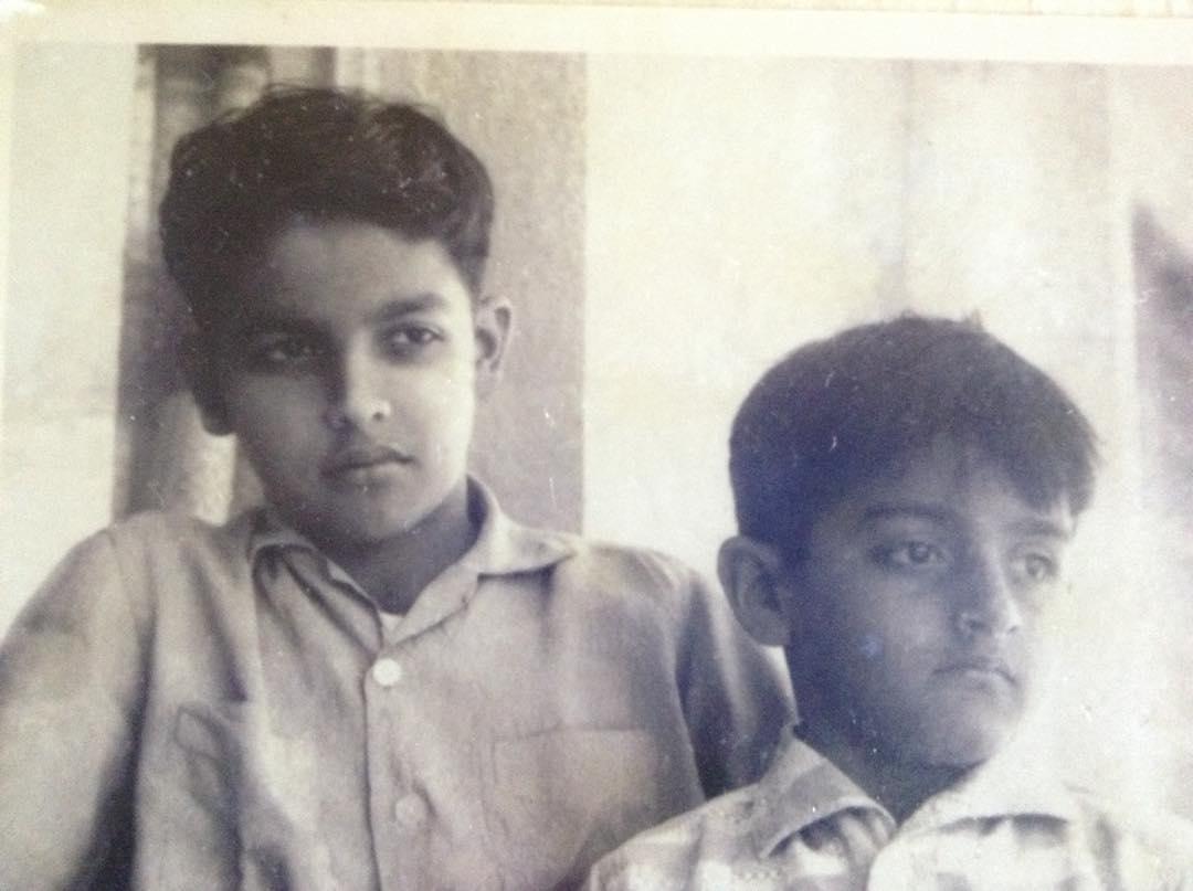 Mahesh Bhatt With Brother