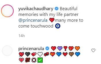 Prince Narula, Yuvika Chaudhary