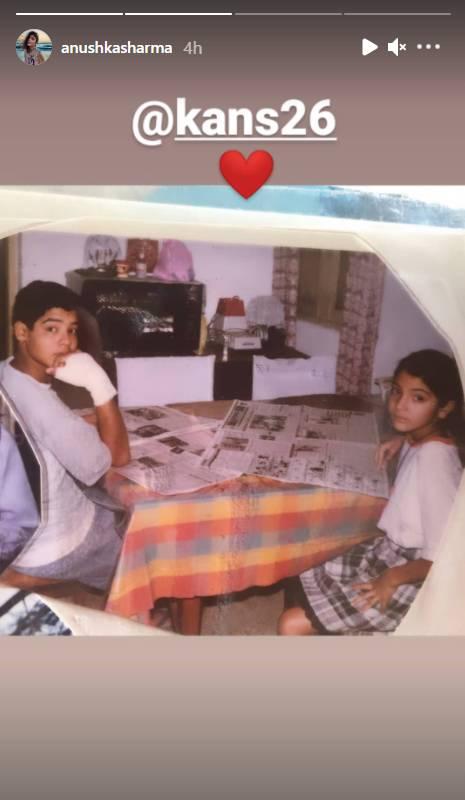 Anushka Sharma With Brother