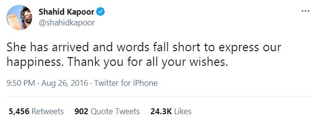shahid tweet