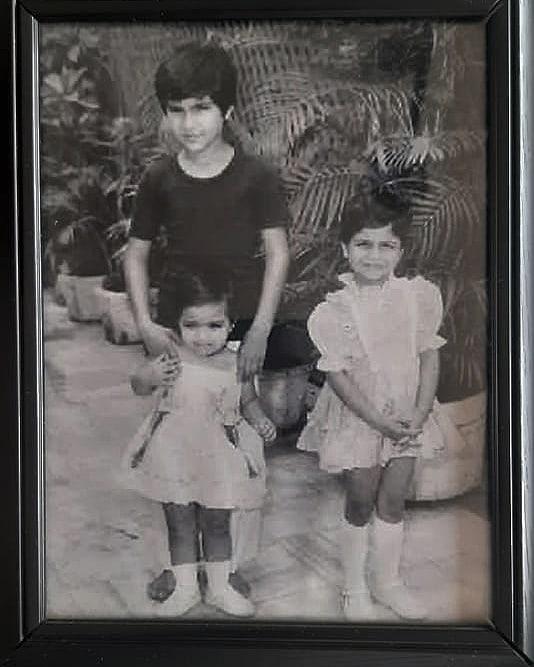 Saif Ali Khan Childhood Photos