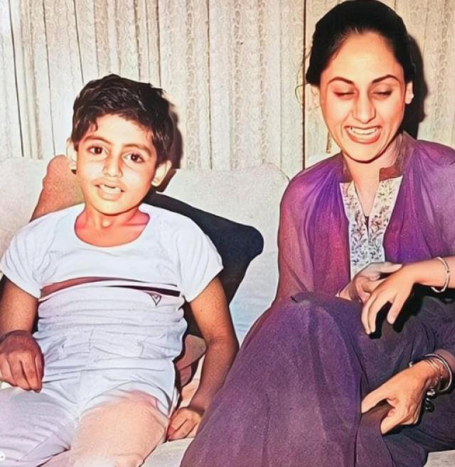 jaya with abhishek