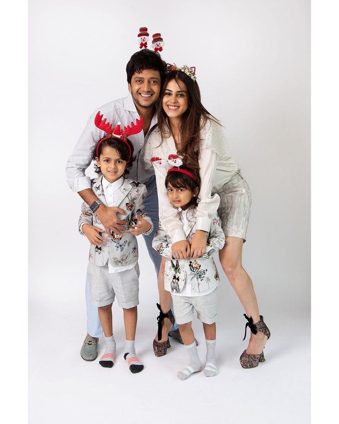 ritesh deshmukh family