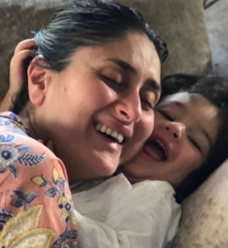 kareena with Taimur