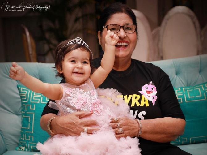 kapil daughter