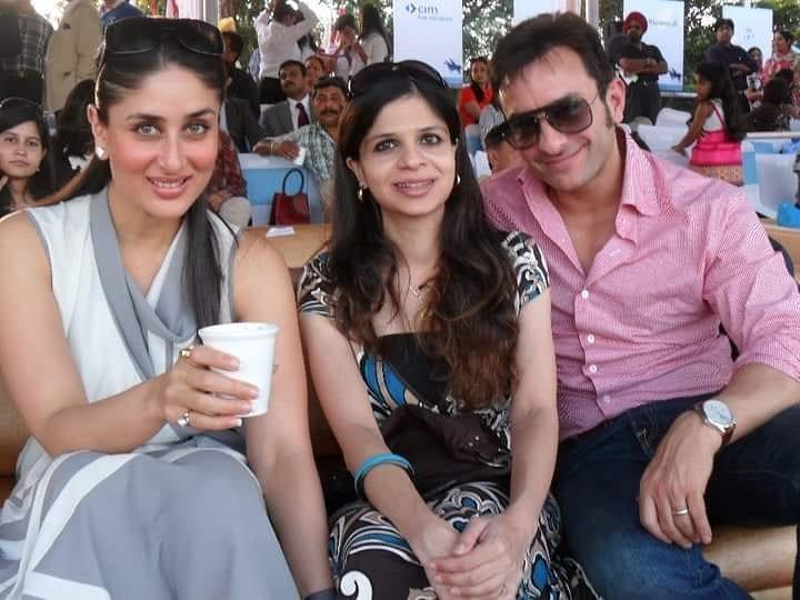 Saba Ali Khan With Brother