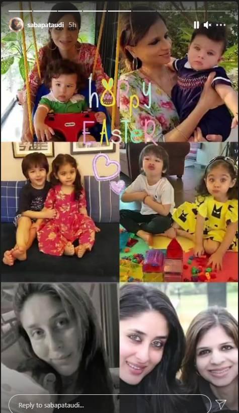 Saba Ali Khan Family Photo