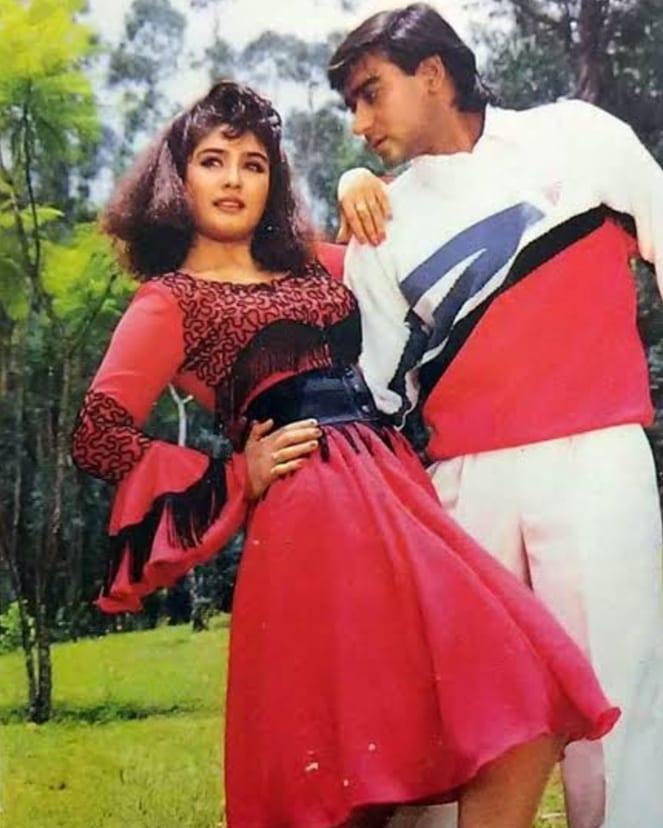 Ajay Devgn Raveena Tondan