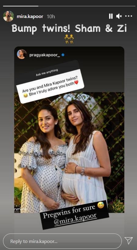 Mira Kapoor Baby Bump
