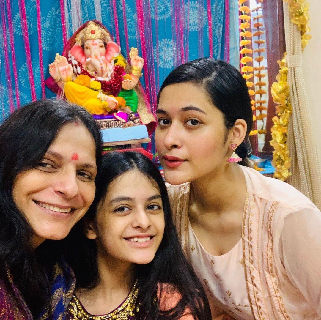 Rohitash Gaud With Family