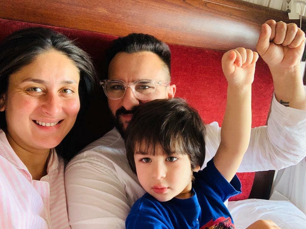 Kareena With Family