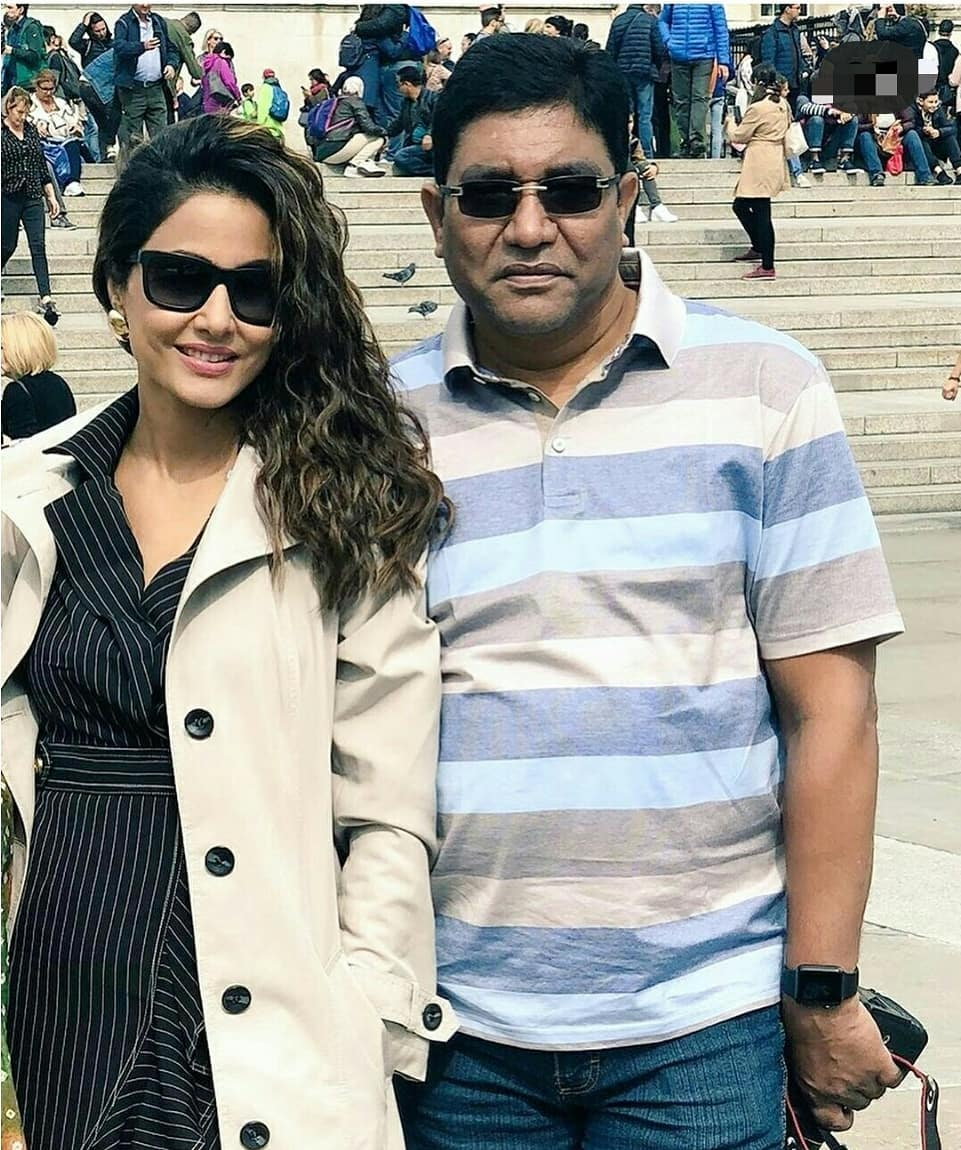 hina with father