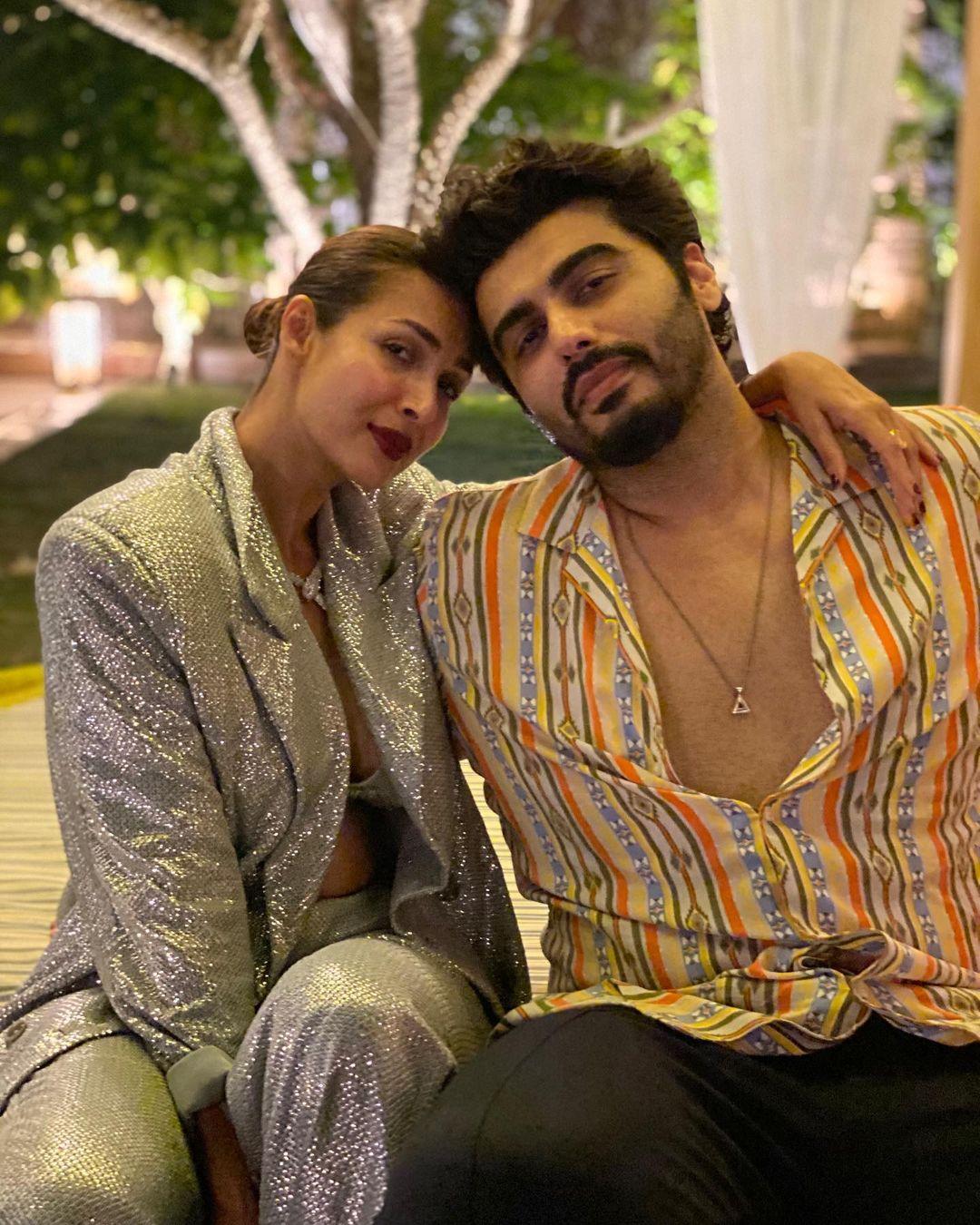 Malaika Arora With Arjun