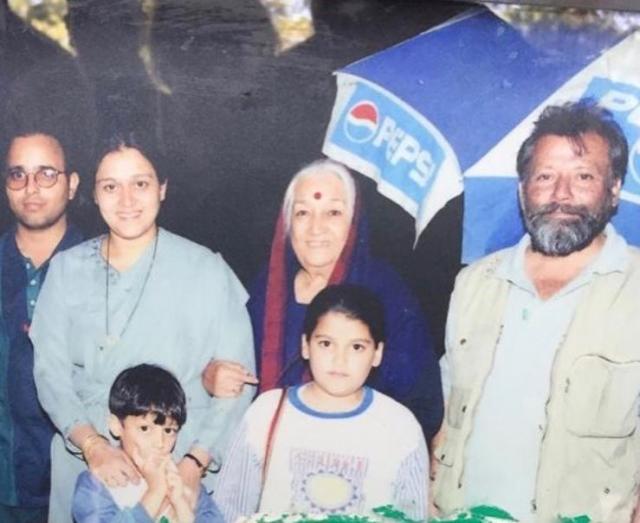 supriya pathak family