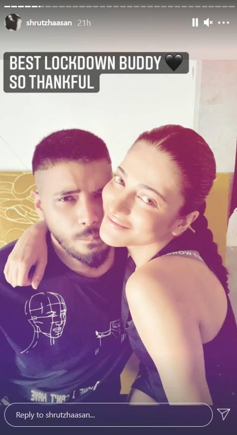 Shruti Haasan With Boyfriend Shantanu