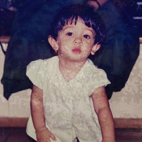 ira khan childhood photo
