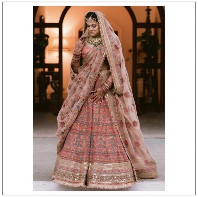 Kanupriya garg bridal look