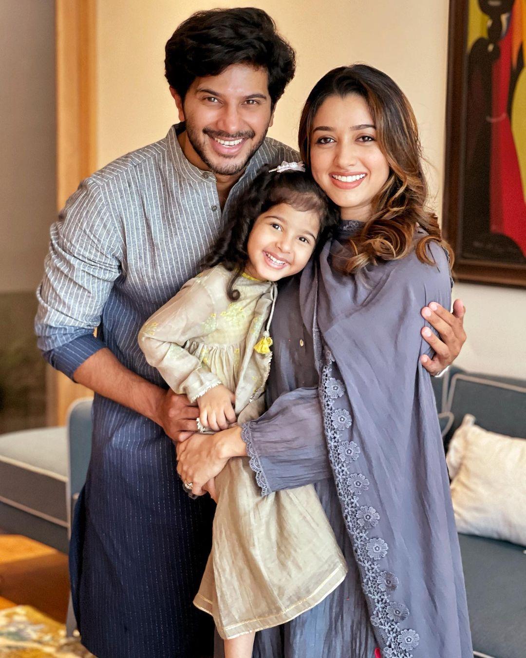 Dulquer Salmaan Family