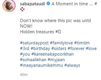 saba ali khan post