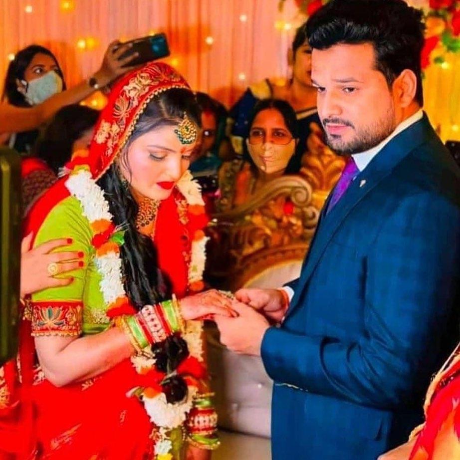 Ritesh Pandey Engagement