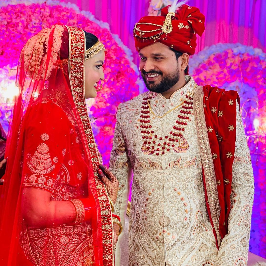 Ritesh Pandey Marriage