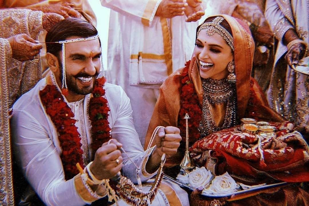 Deepika Padukone And Ranveer Singh Wedding Photo