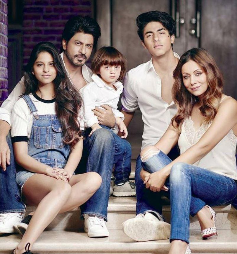 Shahrukh Khan Family Photo