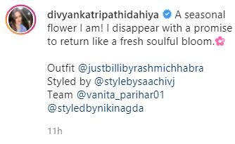 divyanka latest post