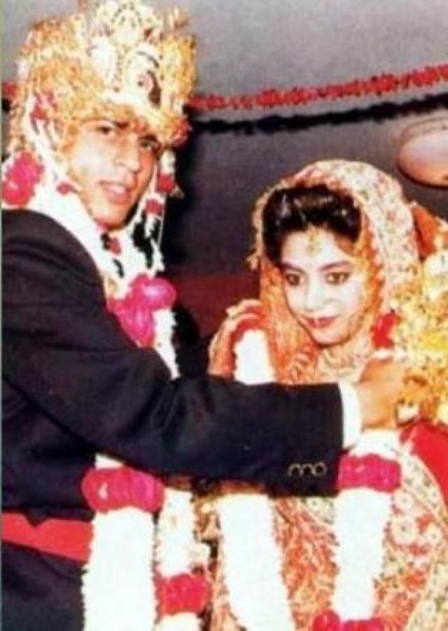 shahrukh and gauri wedding