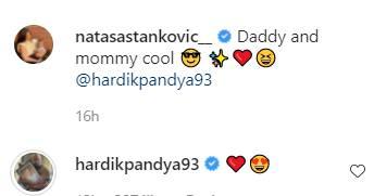 Hardik Pandya, Natasa Stankovic