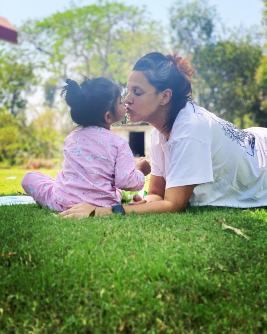 Neha Dhupia Daughter Mehr