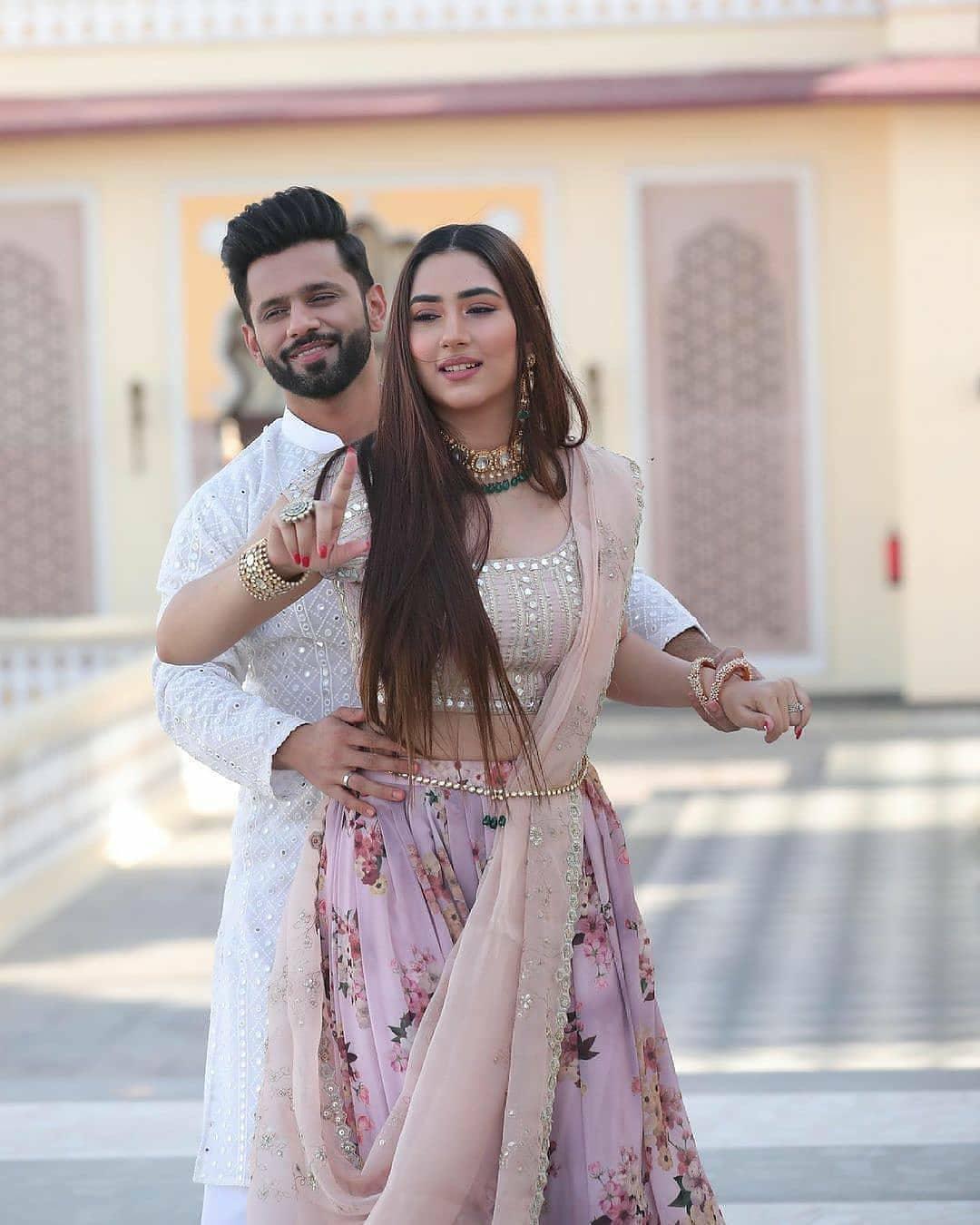 Rahul Vaidya Disha Parmar