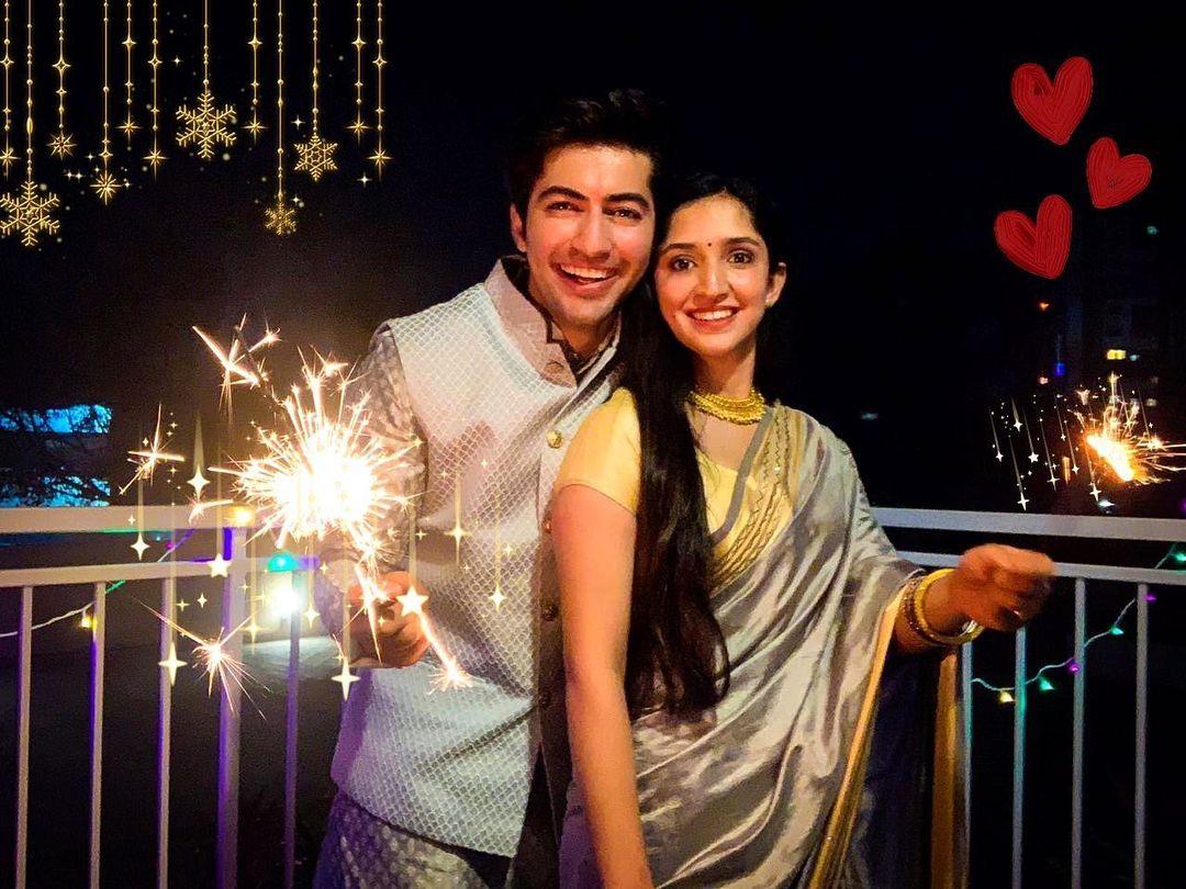 Akshay Kharodia and Divya