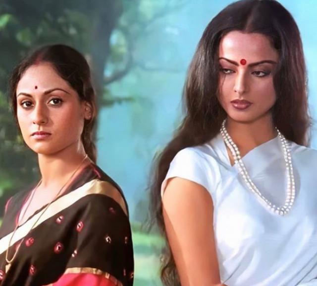 rekha and jaya fight