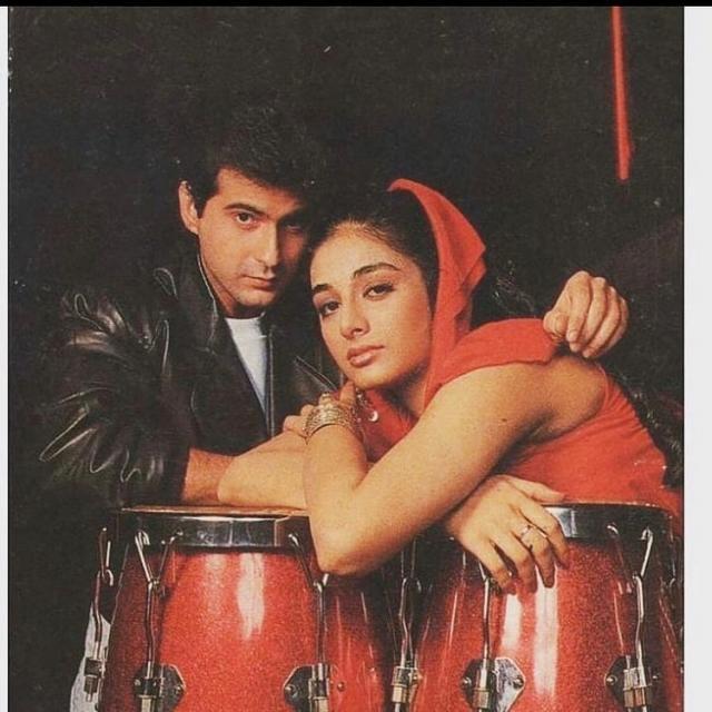(Tabu and Sanjay Kapoor)