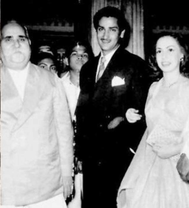 Shammi Kapoor and Nadia Gamal's love story
