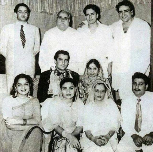 Shammi Kapoor and Geeta Bali's marriage